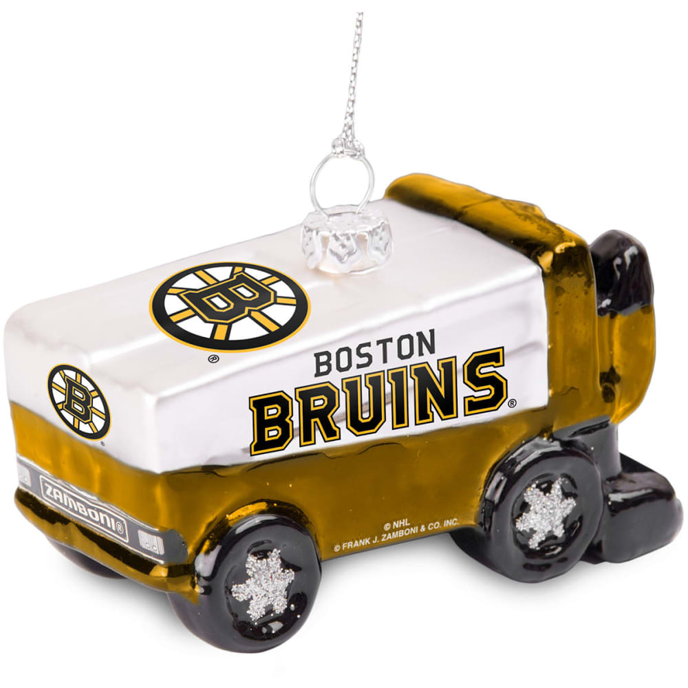 BOSTON BRUINS Zamboni Ornament - MULTI