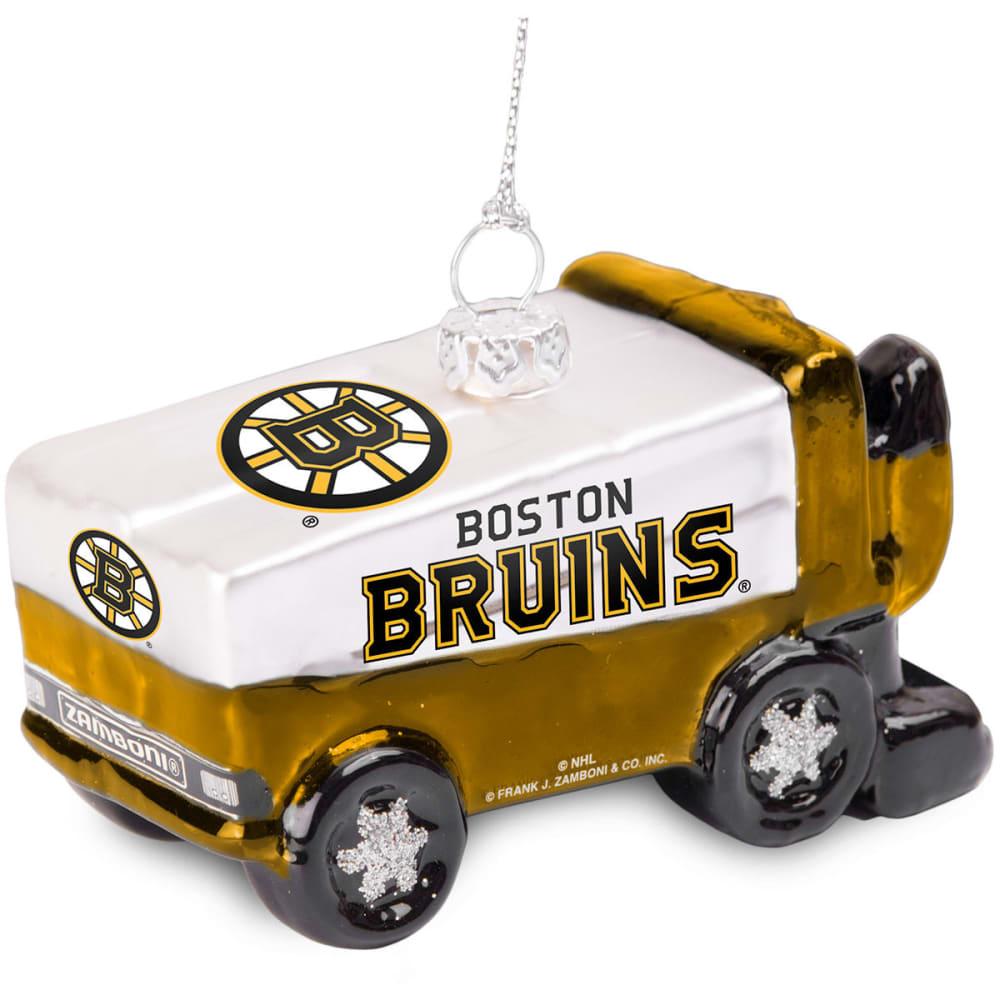 BOSTON BRUINS Zamboni Ornament - MULTI