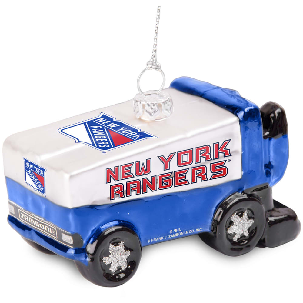 NEW YORK RANGERS Zamboni Ornament - MULTI