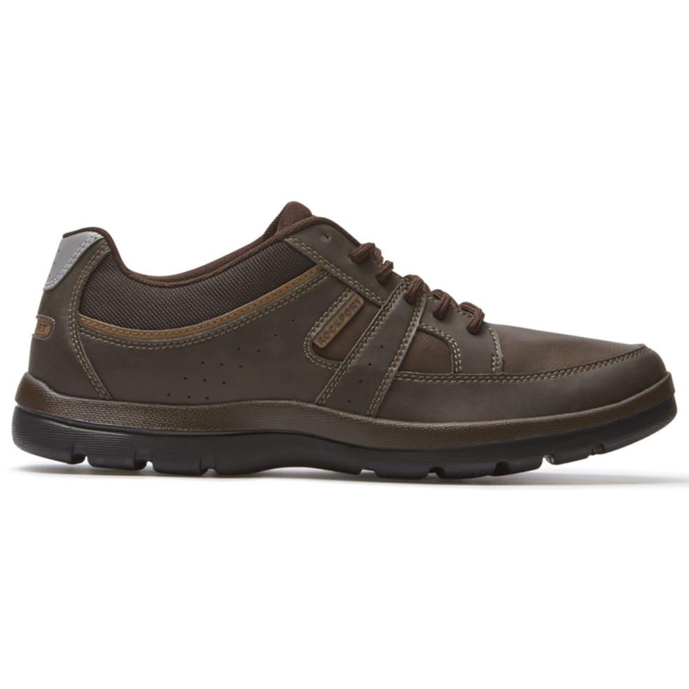 ROCKPORT Men's Blucher Tie Sneakers - BROWN