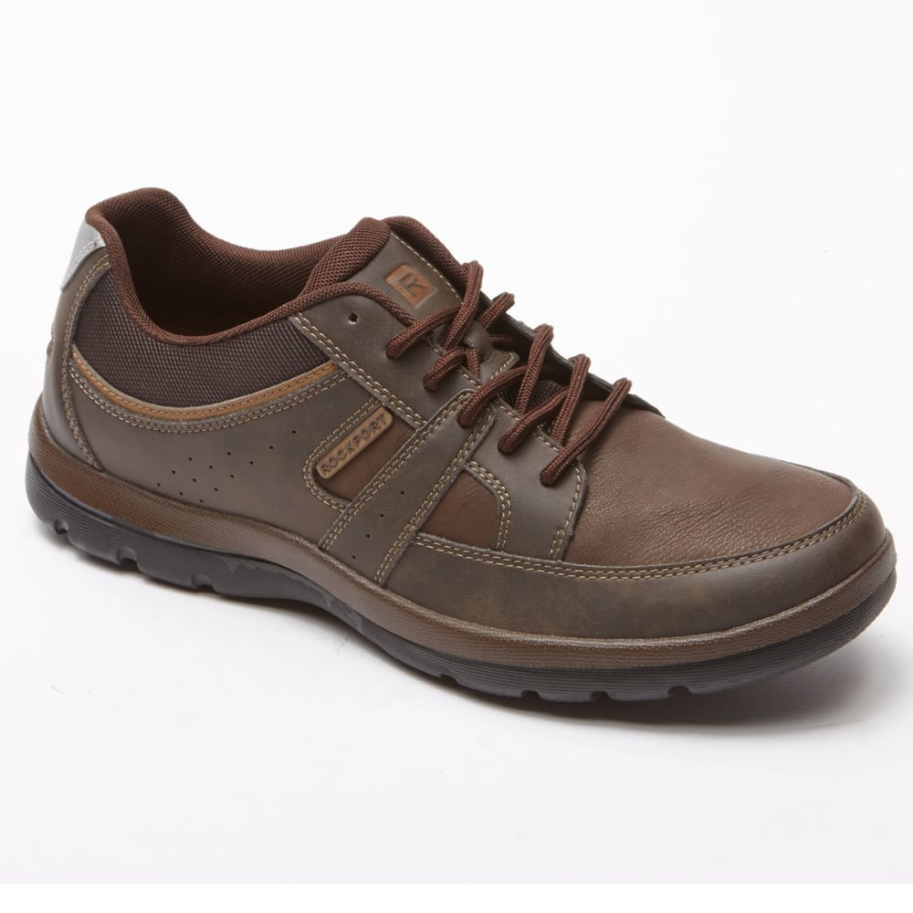 ROCKPORT Men's Blucher Tie Sneakers - BROWN