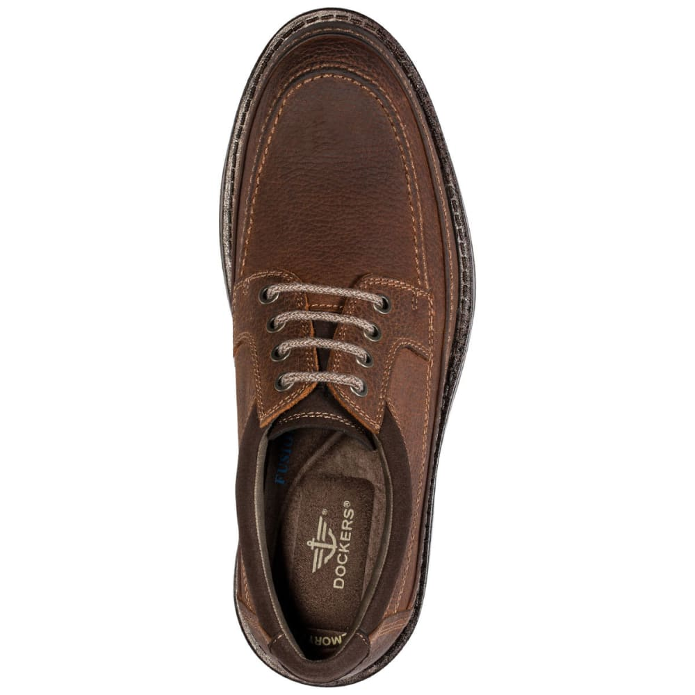 DOCKERS Men's Eastview Oxfords - RED BROWN