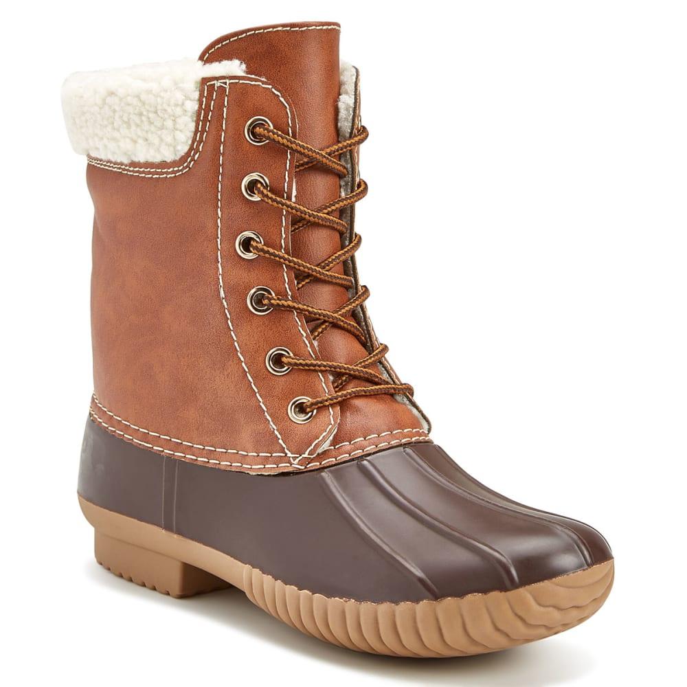 YOKI Women's Dylan-03 Rain Boots - MATTE BROWN