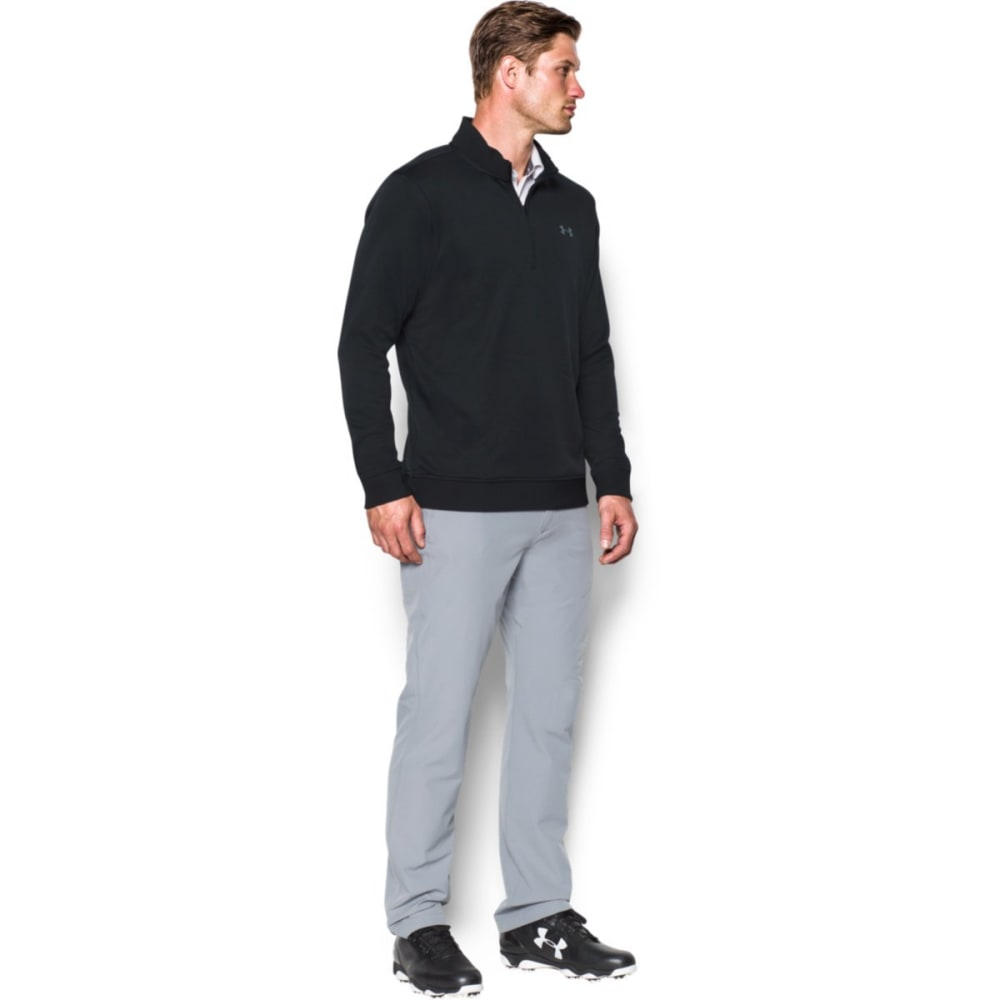 UNDER ARMOUR Men's Storm Sweater Fleece 1/4 Zip - BLACK-001