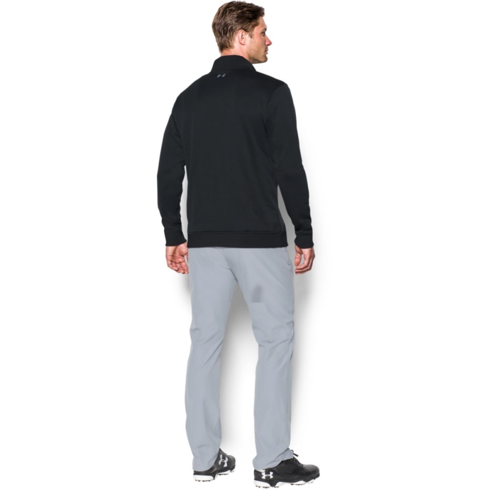 UNDER ARMOUR Men's Storm Sweater Fleece 1/4 Zip - BLACK-001