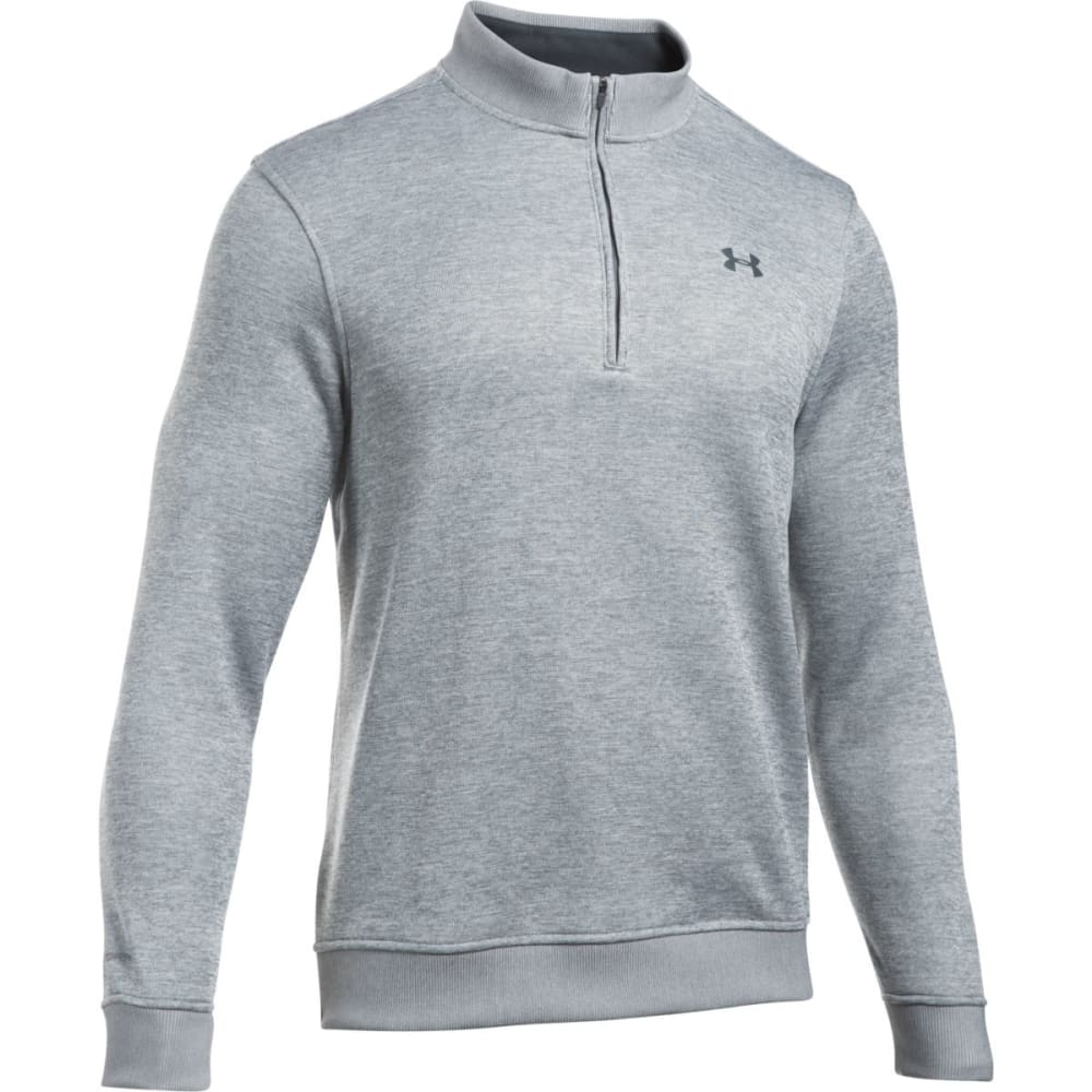 UNDER ARMOUR Men's Storm Sweater Fleece 1/4 Zip - GREY HEATHER-025