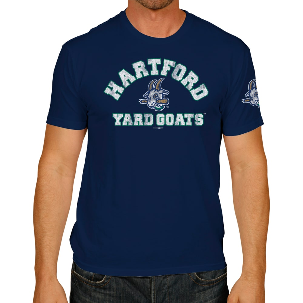 HARTFORD YARD GOATS Men's Short-Sleeve Tee - NAVY