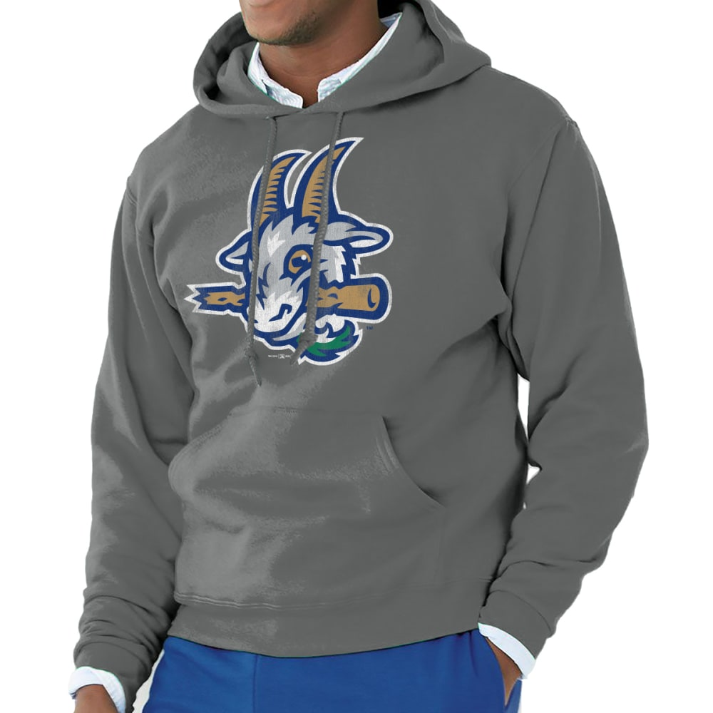 HARTFORD YARD GOATS Men's Logo Pullover Hoodie - CHARCOAL