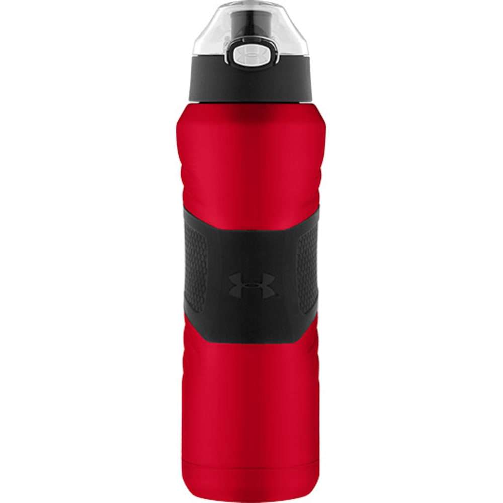 UNDER ARMOUR 24 oz. Dominate Vacuum-Insulated Water Bottle - MATTE RED