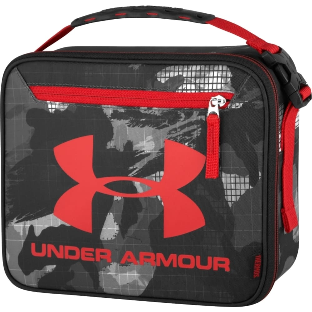 THERMOS Under Armour Graphic Lunch Cooler - BLACK/RED TAKE OVER