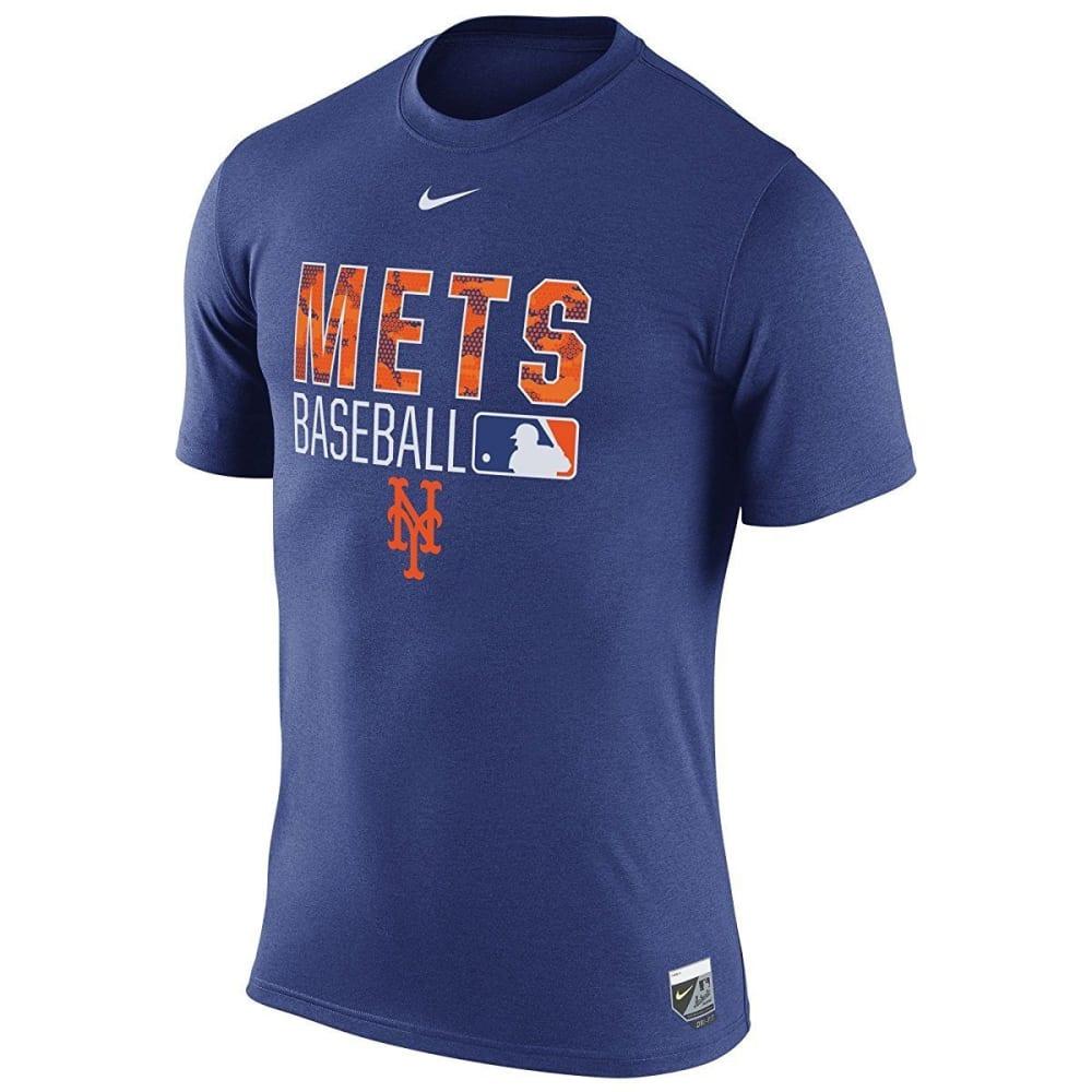 NIKE Men's New York Mets Legend Short-Sleeve Tee - ROYAL BLUE