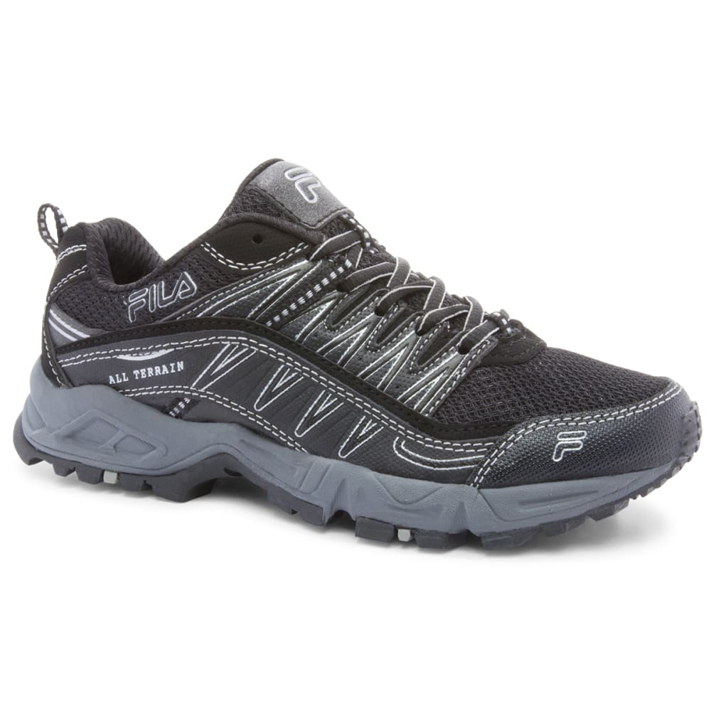 FILA Women's At Peake Trail Running Shoes - BLACK