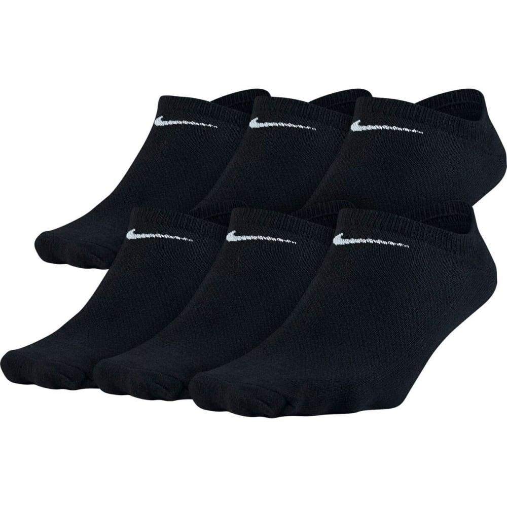 NIKE Women's Lightweight No-Show Socks, 6 Pack 9-11