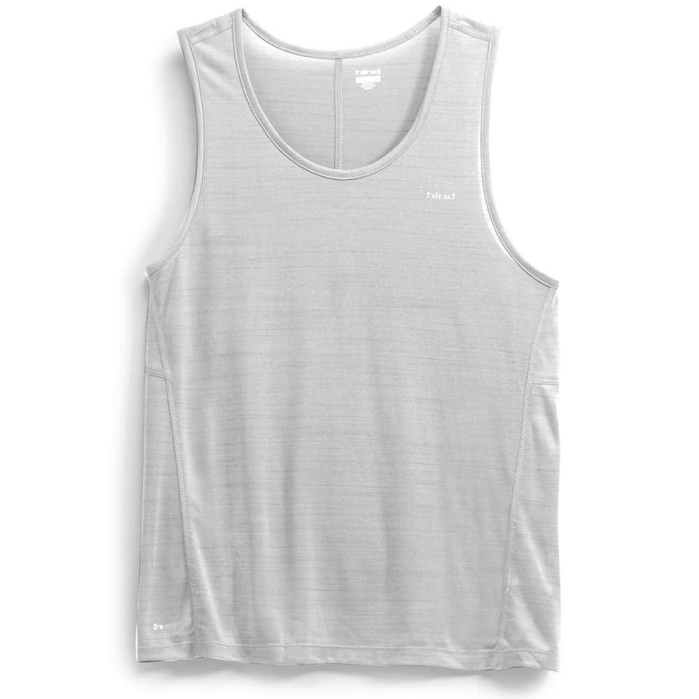 HIND Men's Space Dye Tank Top - HIGHRISE GREY-H=2