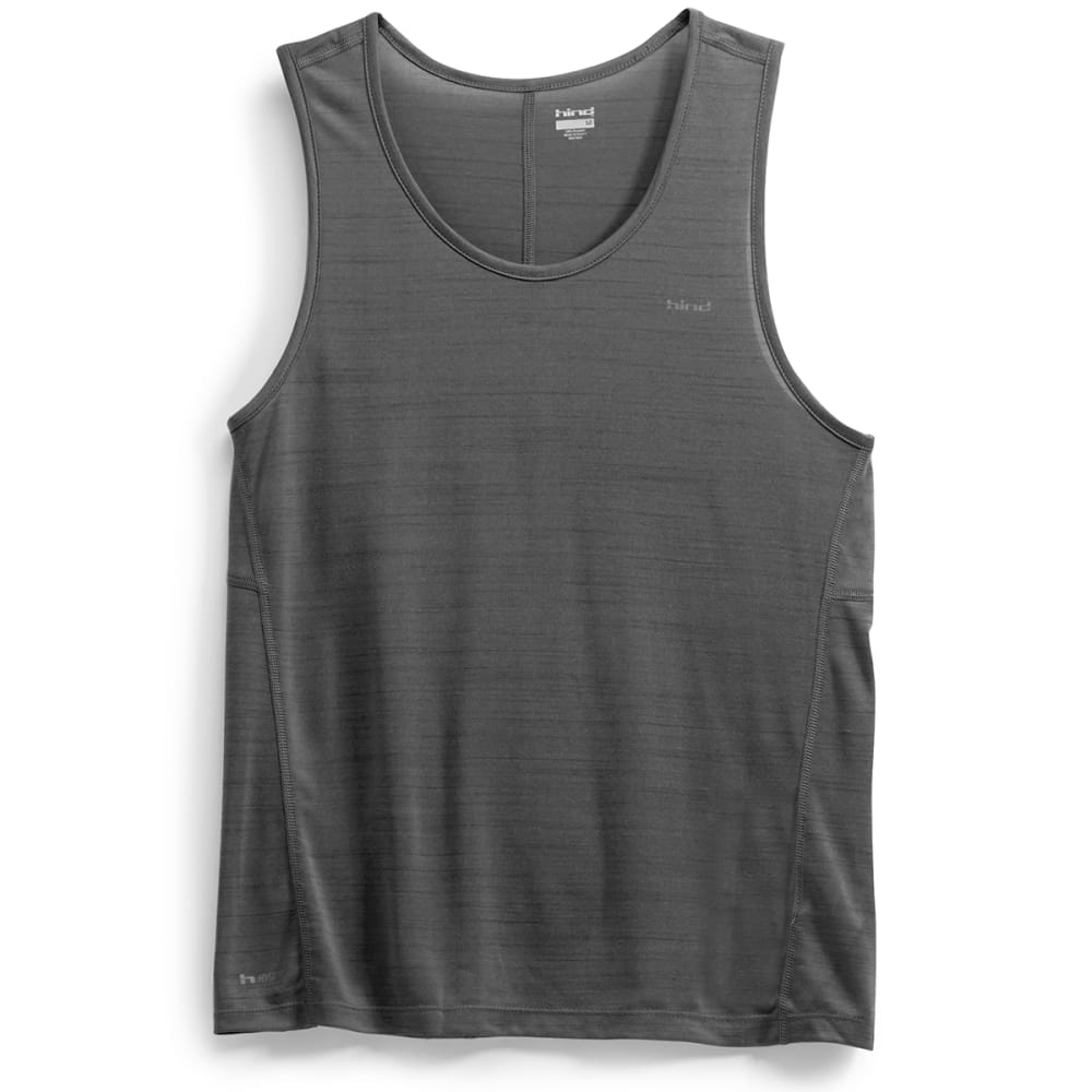 HIND Men's Space Dye Tank Top - ANTHRACITE-AHC