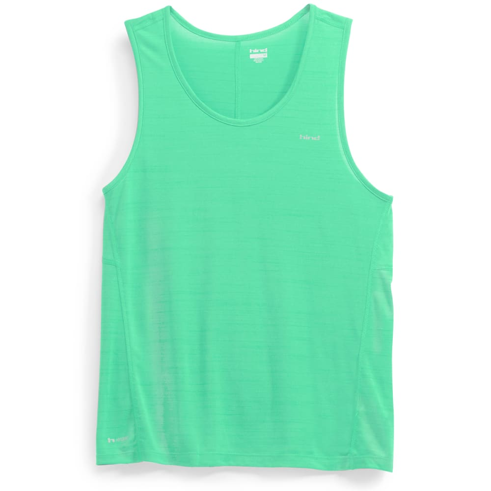 HIND Men's Space Dye Tank Top - MINT SPARK-MNT