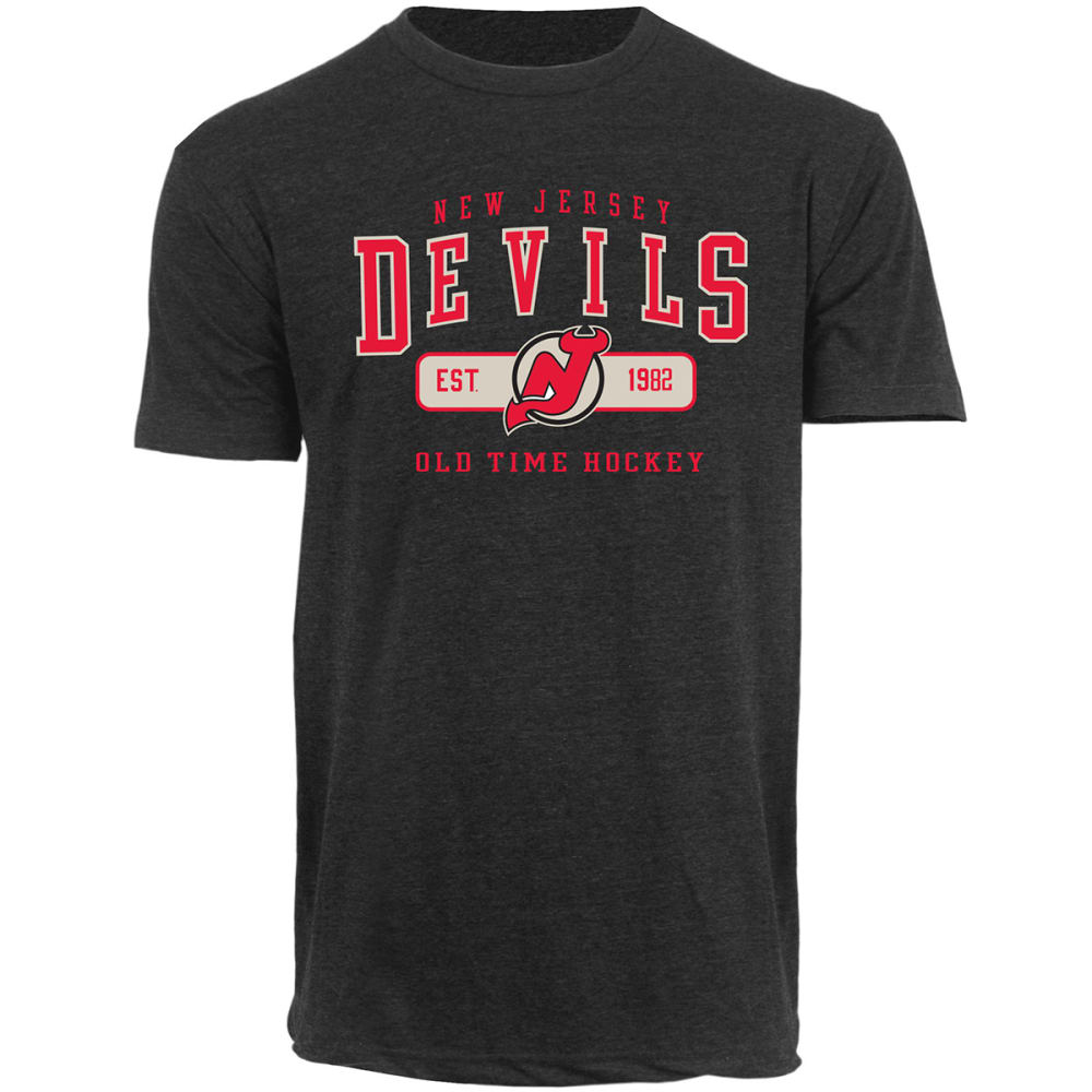 NEW JERSEY DEVILS Men's Rollins Tee - BLACK