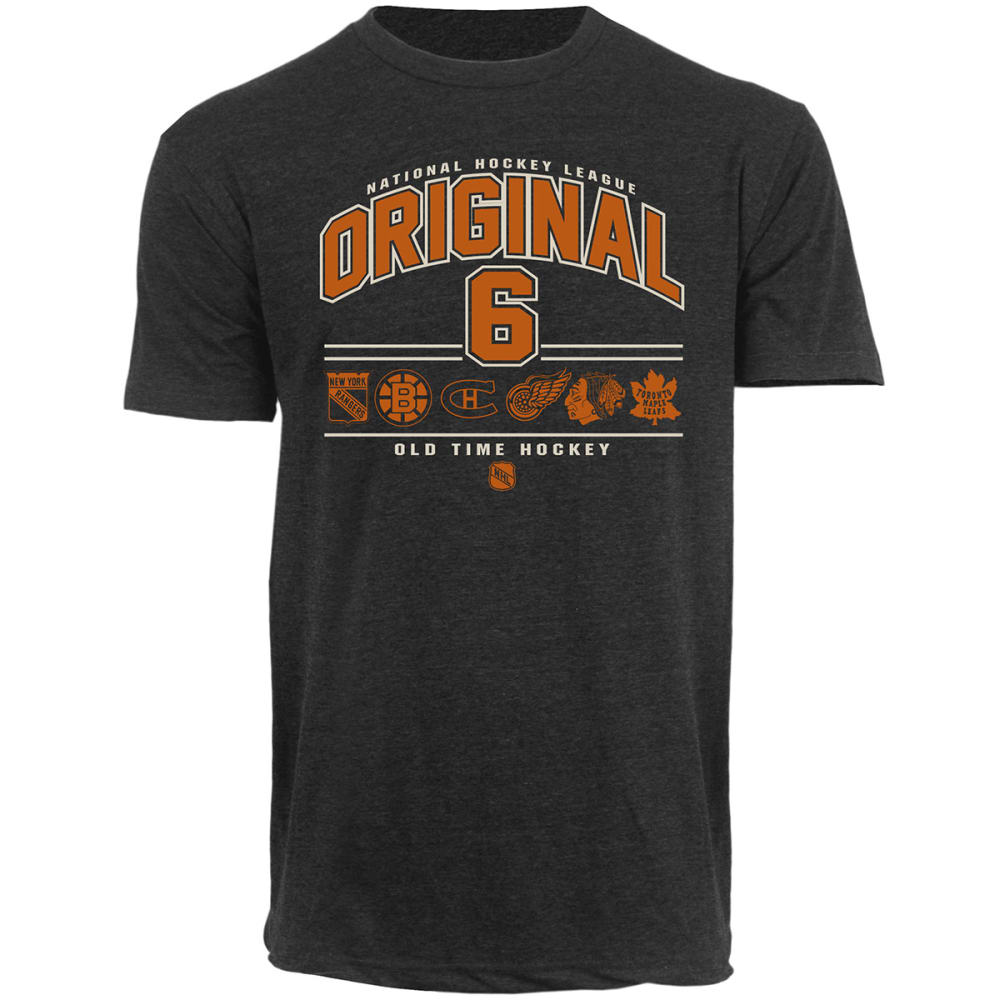 NHL Men's Original 6 Crofin Tee - BLACK