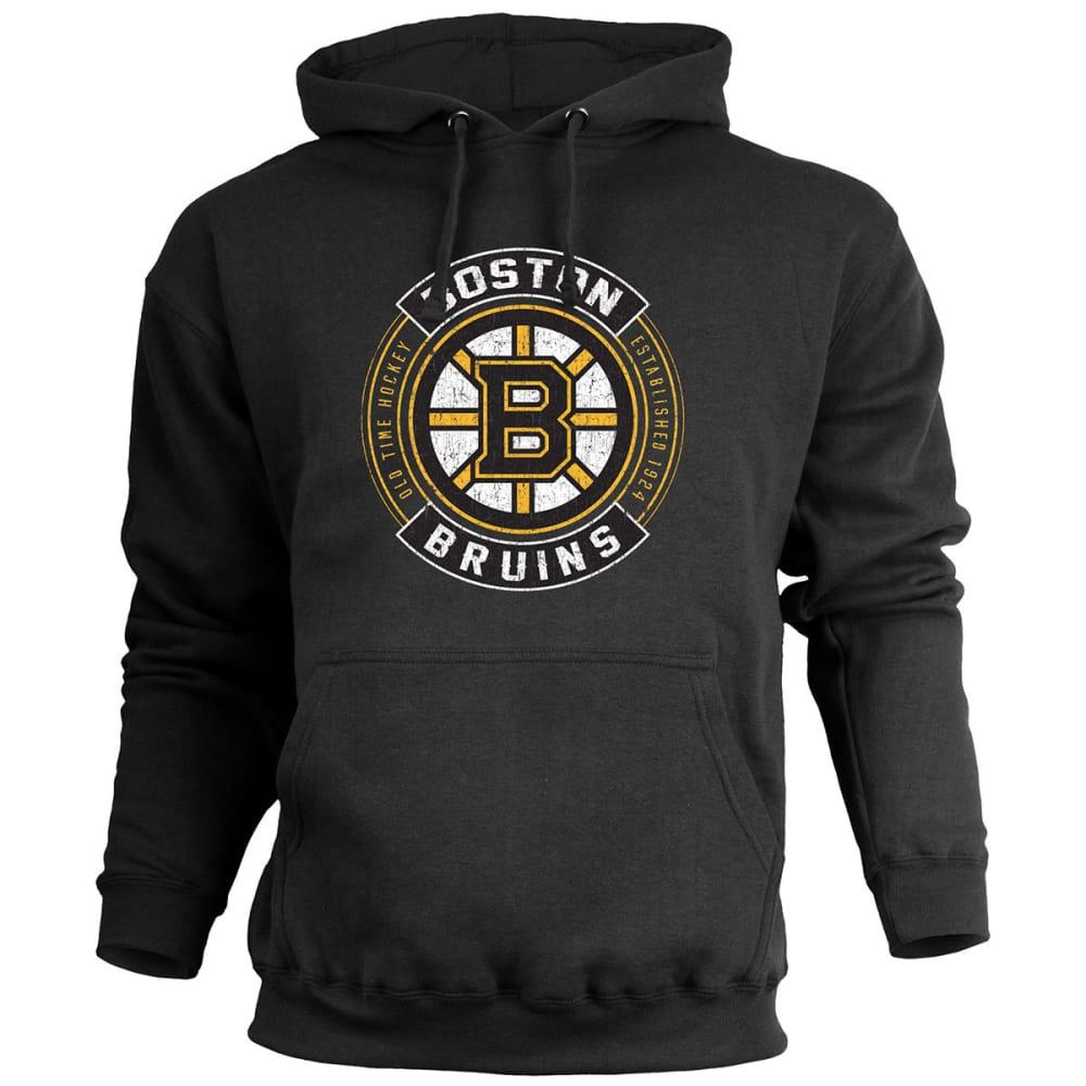BOSTON BRUINS Men's A-Town Fleece Pullover Hoodie - BLACK