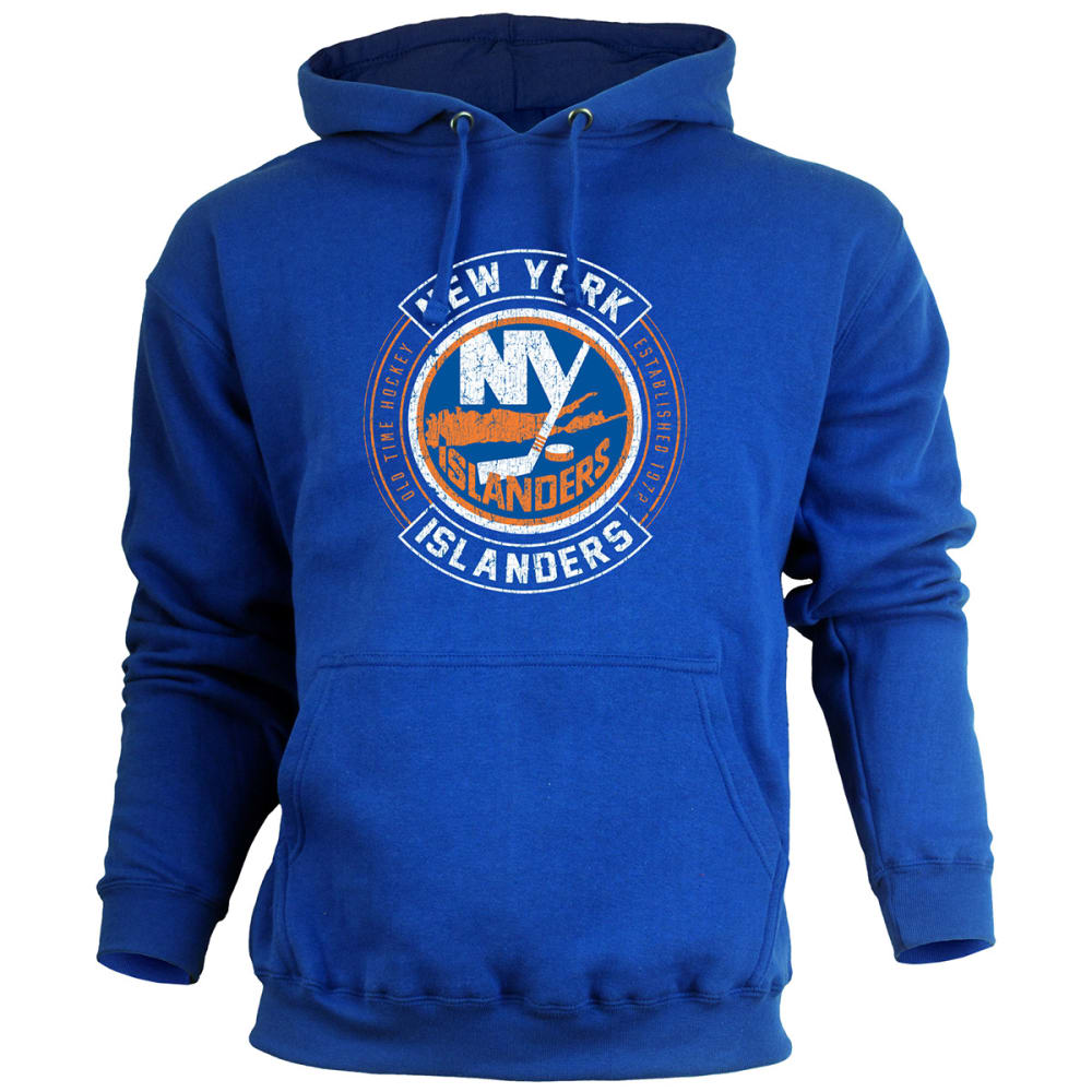NEW YORK ISLANDERS Men's ATown Pullover Fleece - ROYAL BLUE