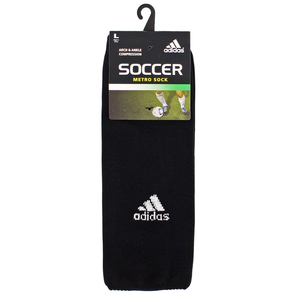 ADIDAS Men's Metro IV Soccer Socks - BLACK 69