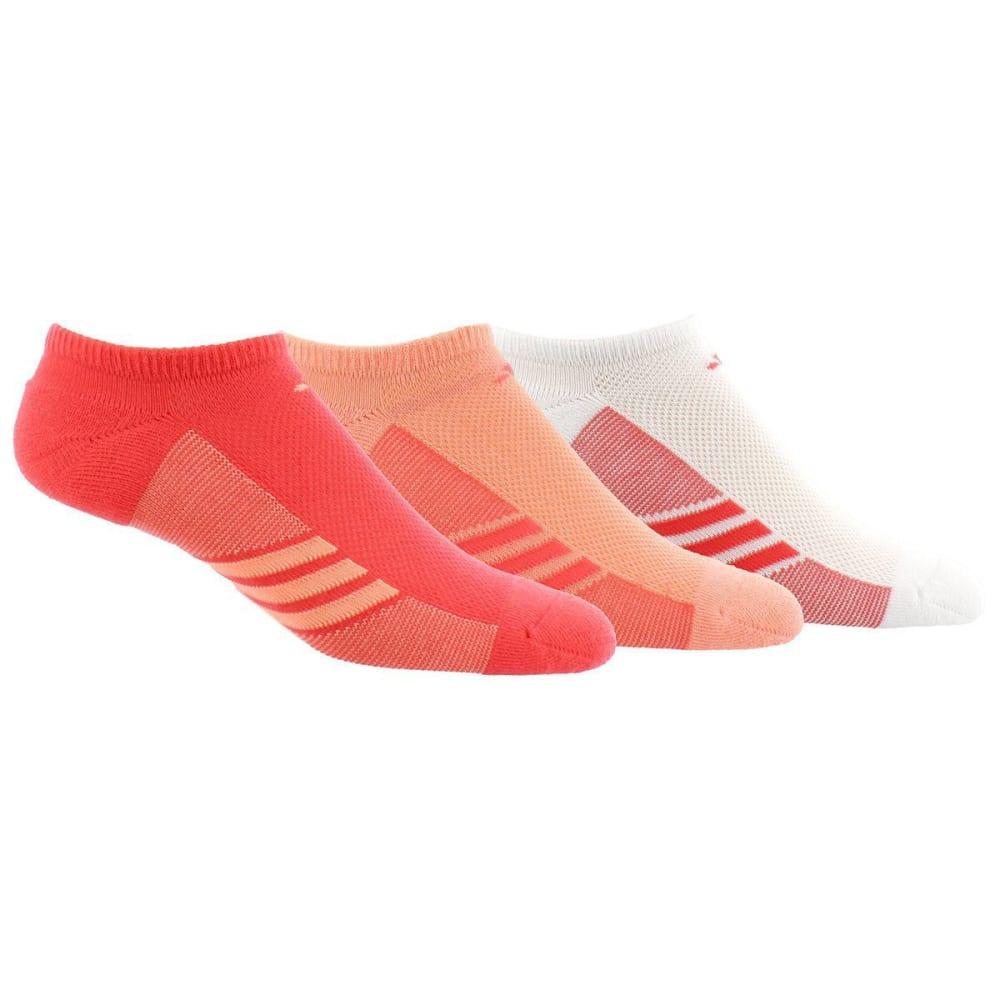 ADIDAS Women's Climalite Cool Superlite No Show Socks, 3 Pack 9-11