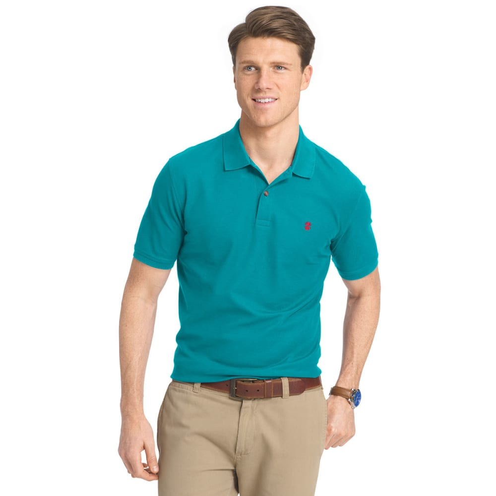 IZOD Men's Advantage Polo Shirt - 448-OCEAN DEPTHS