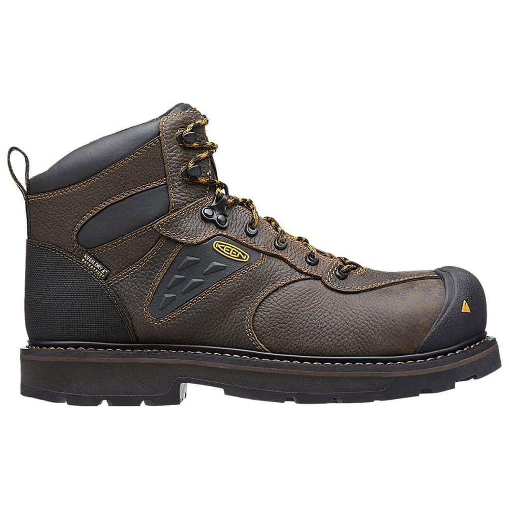 KEEN Men's Tacoma Waterproof Work Boots - CASCADE BROWN