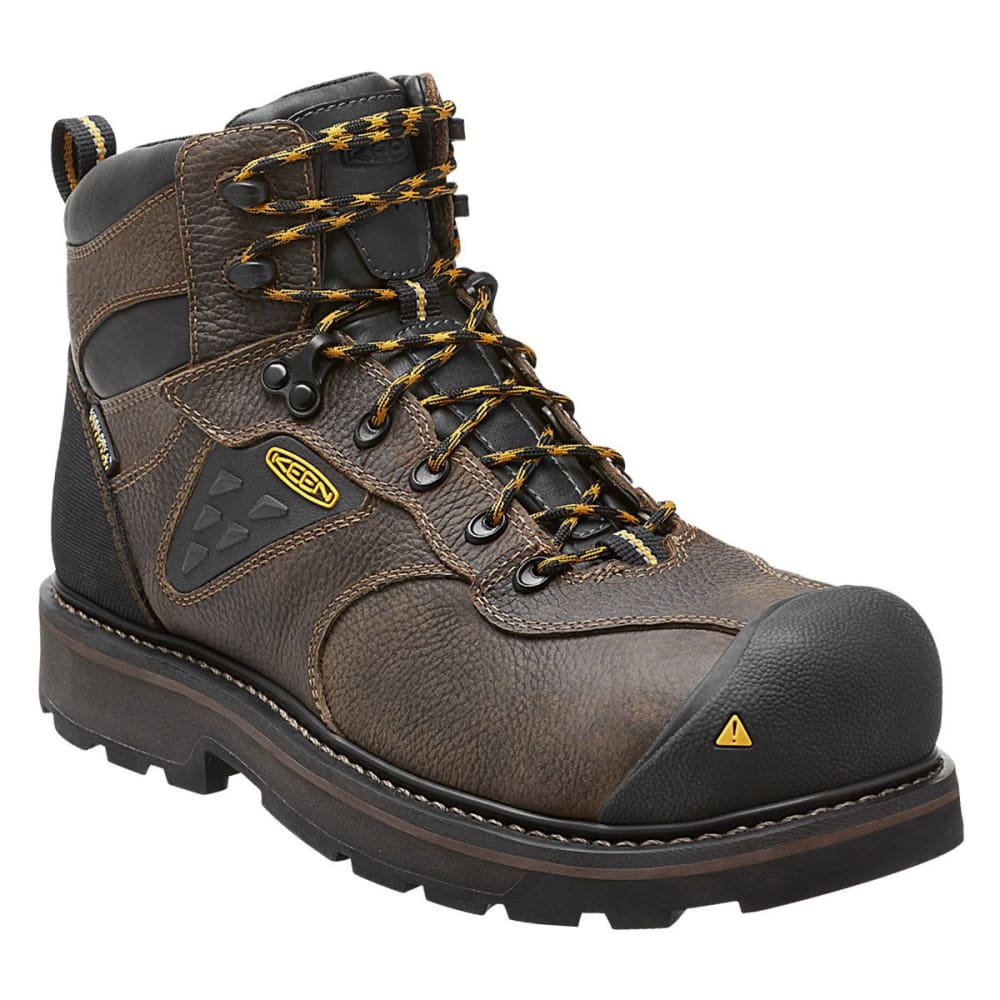 KEEN Men's Tacoma Waterproof Work Boots - CASCADE BROWN