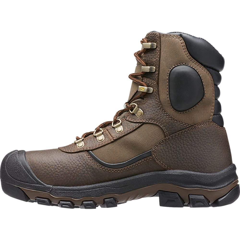 KEEN Men's Leavenworth Insulated Waterproof Work Boots - CASCADE BROWN