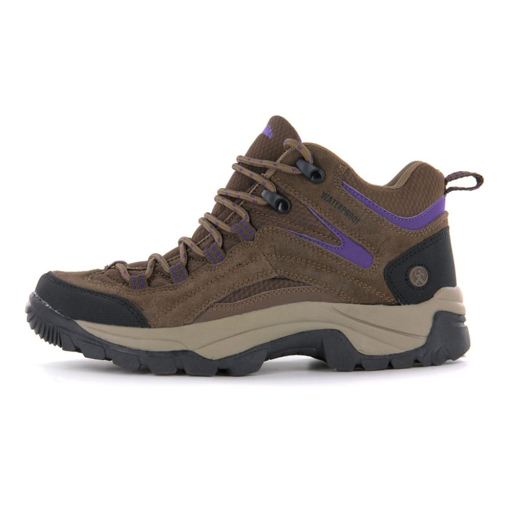NORTHSIDE Women's Pioneer Hiking Boots - MED BROWN
