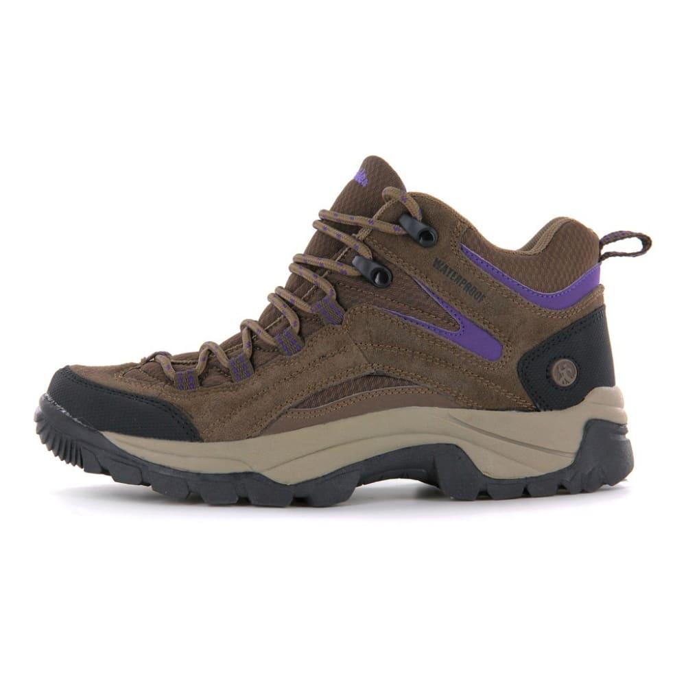 NORTHSIDE Women's Pioneer Hiking Boots - MED BROWN