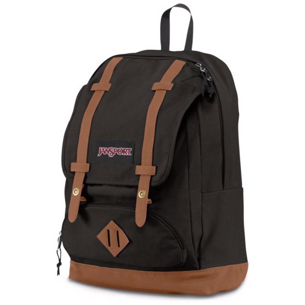 JANSPORT Baughman Backpack - BLACK CANVAS 0PC