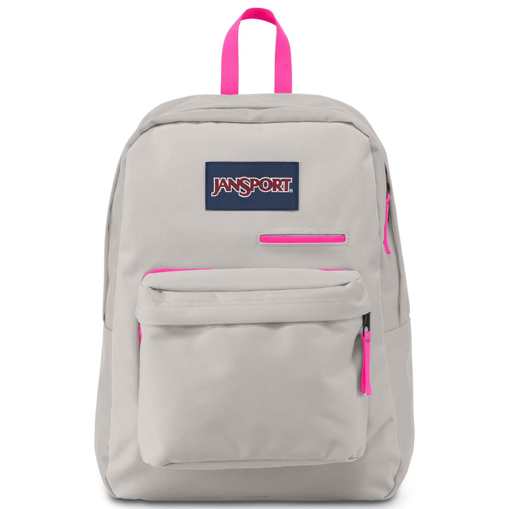 JANSPORT Digibreak Backpack - GREY RABBIT 9ZE