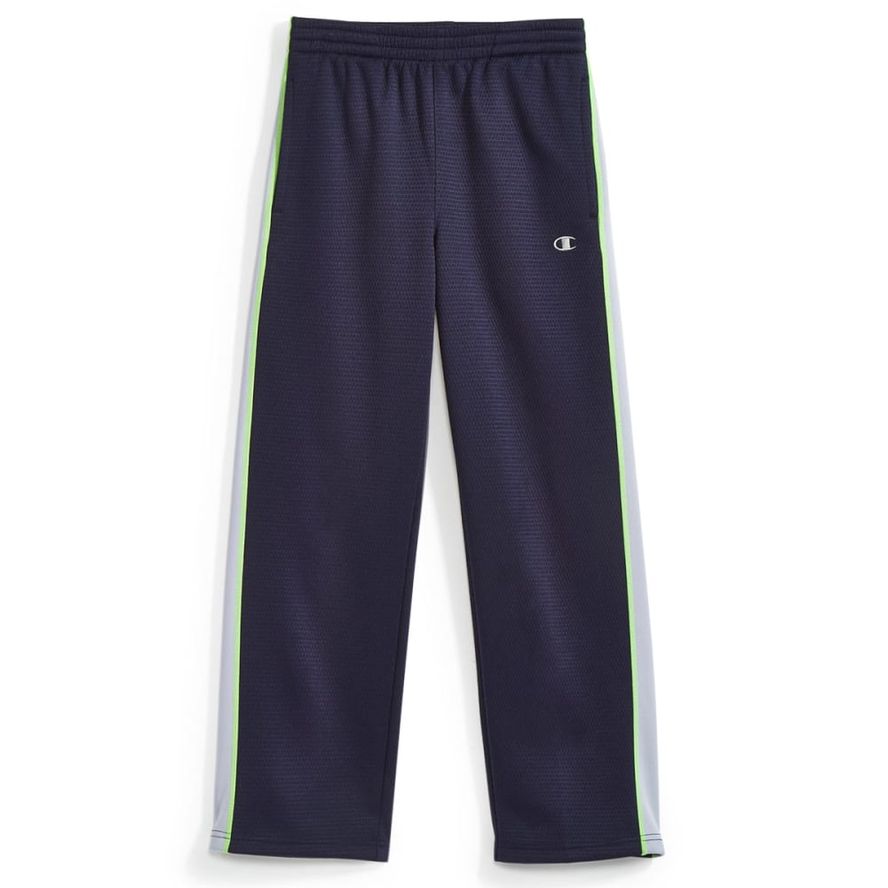 CHAMPION Boys' Straight Flight Pants - NAVY/SILVERSTONE