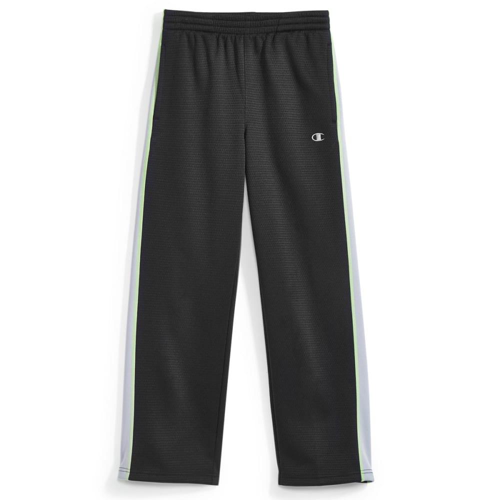 CHAMPION Boys' Straight Flight Pants - BLACK/CONCRETE