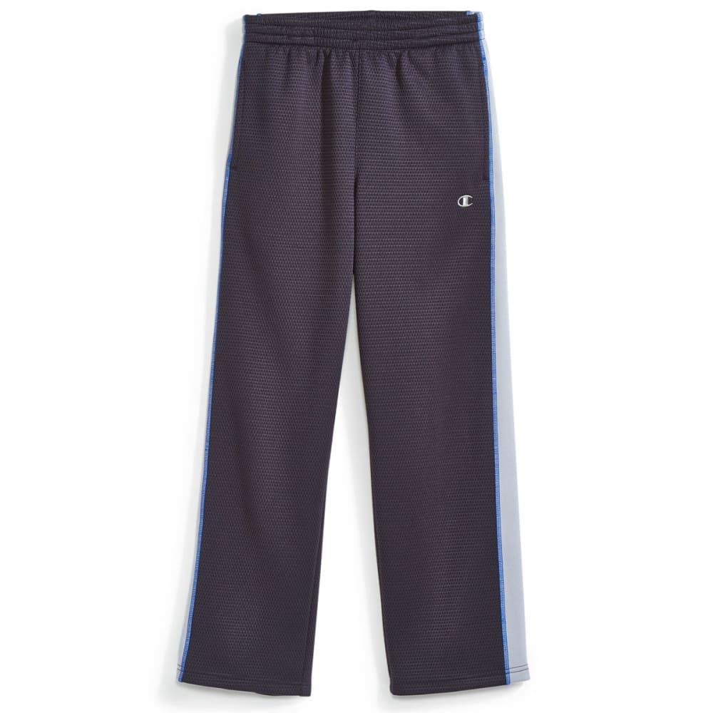 CHAMPION Boys' Straight Flight Pants - SLATE/SILVERSTONE