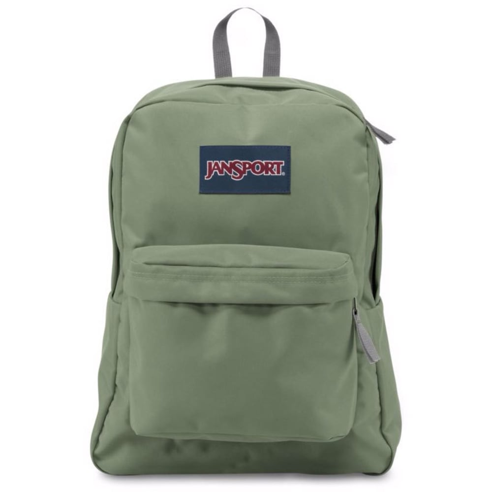 JANSPORT Superbreak Backpack - MUTED GREEN 0HC