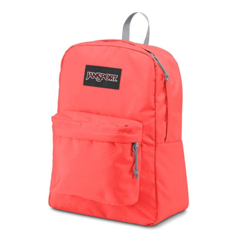 JANSPORT Superbreak Backpack - TAHITIAN ORANGE 005