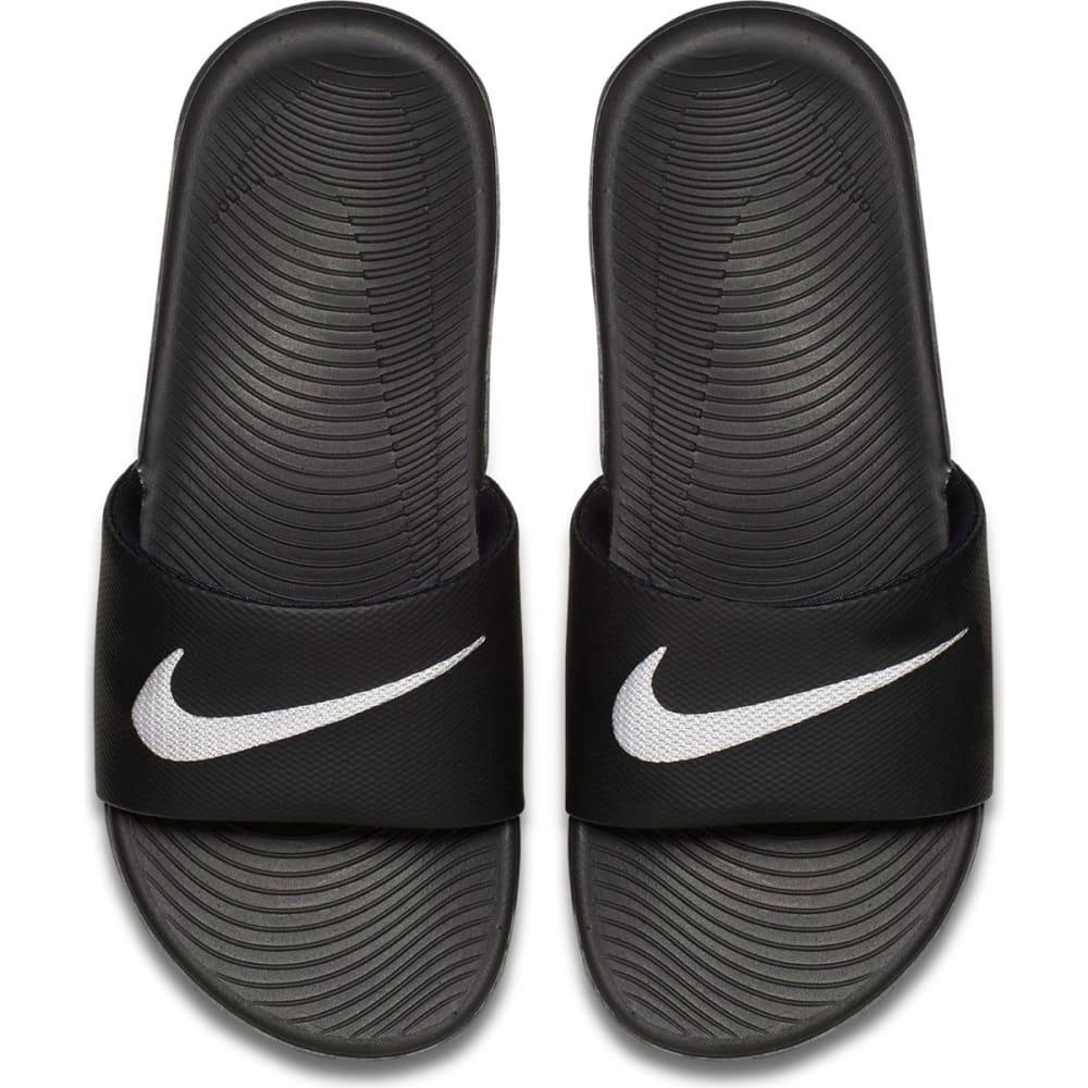 NIKE Boys' Kawa Slide Sandals - BLACK-001