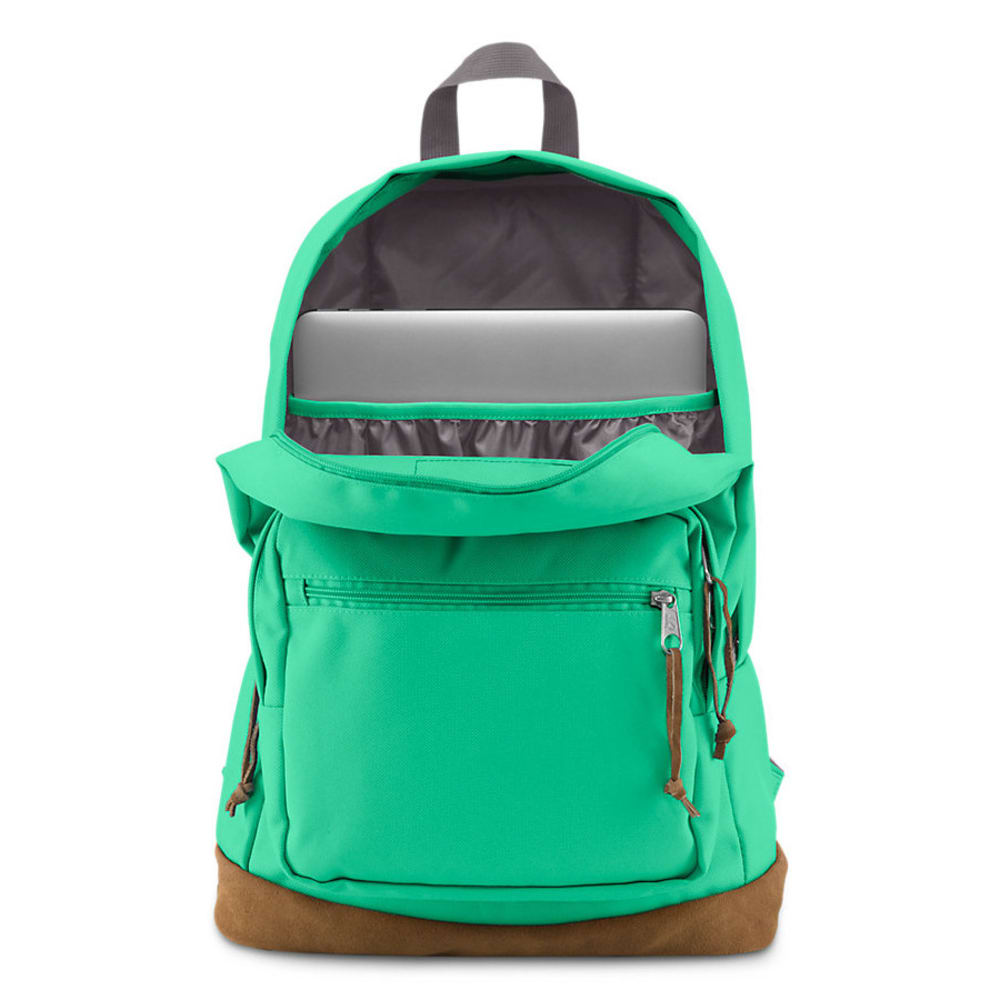 JANSPORT Right Pack Backpack - SEAFOAM GRN 056