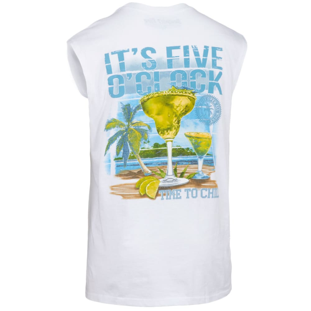 NEWPORT BLUE Men's Five O'Clock Chill Tank - 120-WHITE