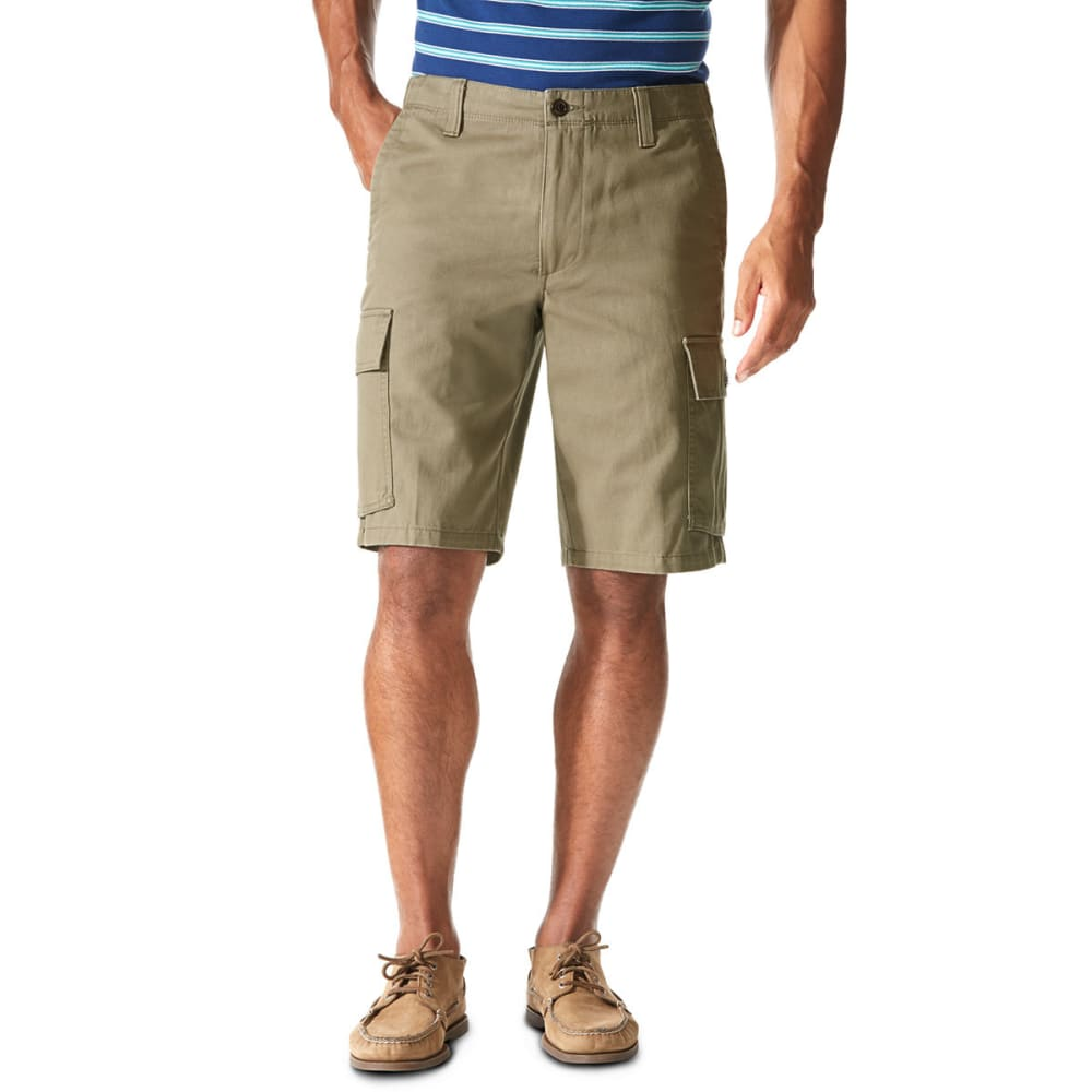 DOCKERS Men's Cargo Shorts - 0234-CONCRETE