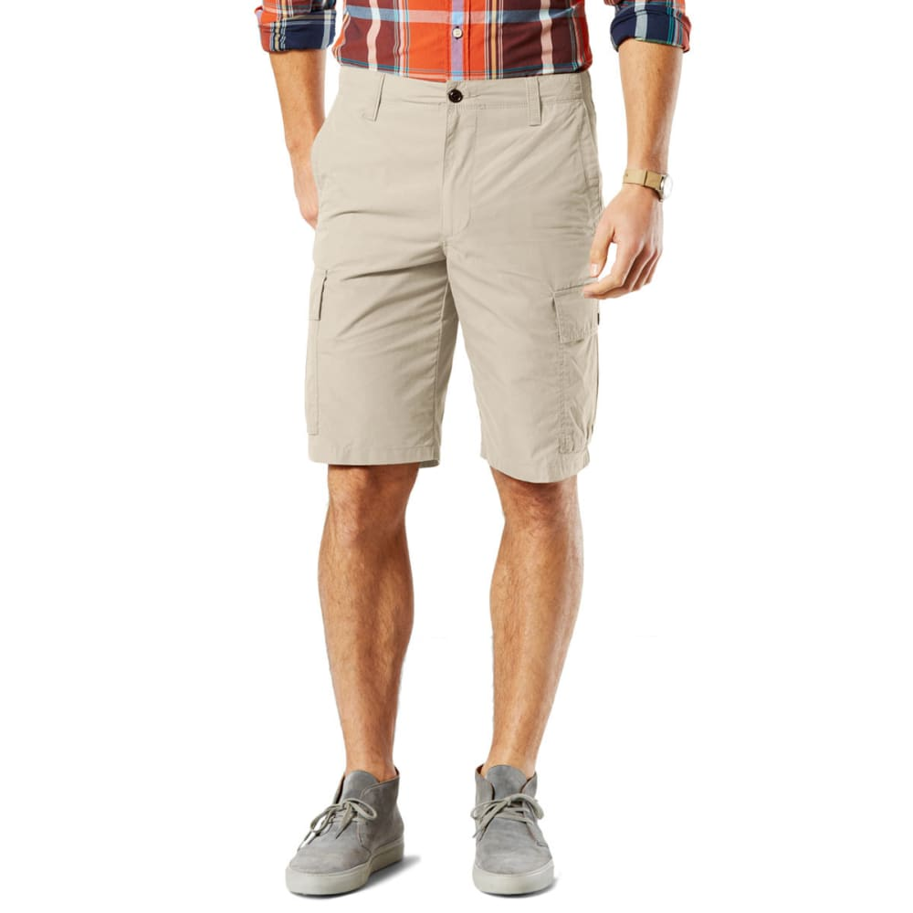 DOCKERS Men's Cargo Shorts - 0336-MARBLE