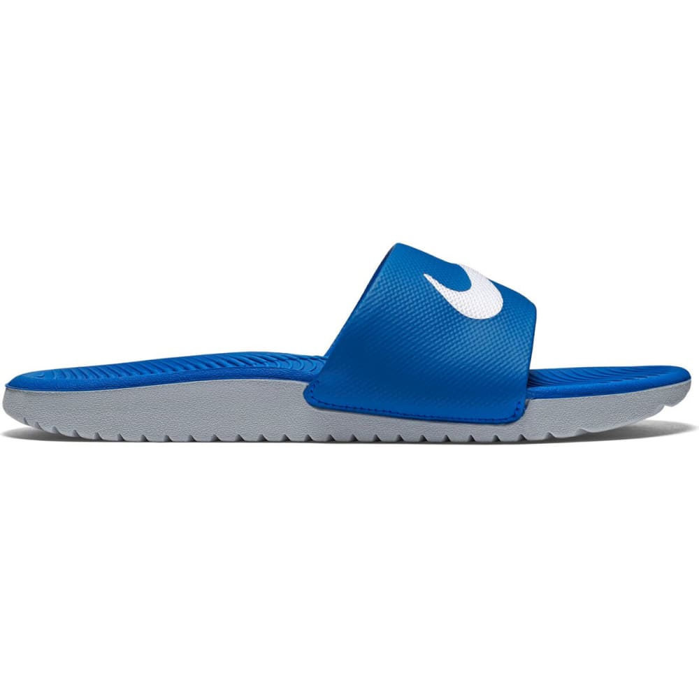 NIKE Boys' Kawa Slide Sandals - ROYAL BLUE