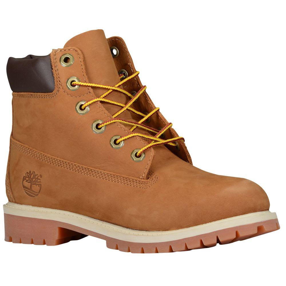 TIMBERLAND Kids' 6 in. Premium Waterproof Boots - RUST
