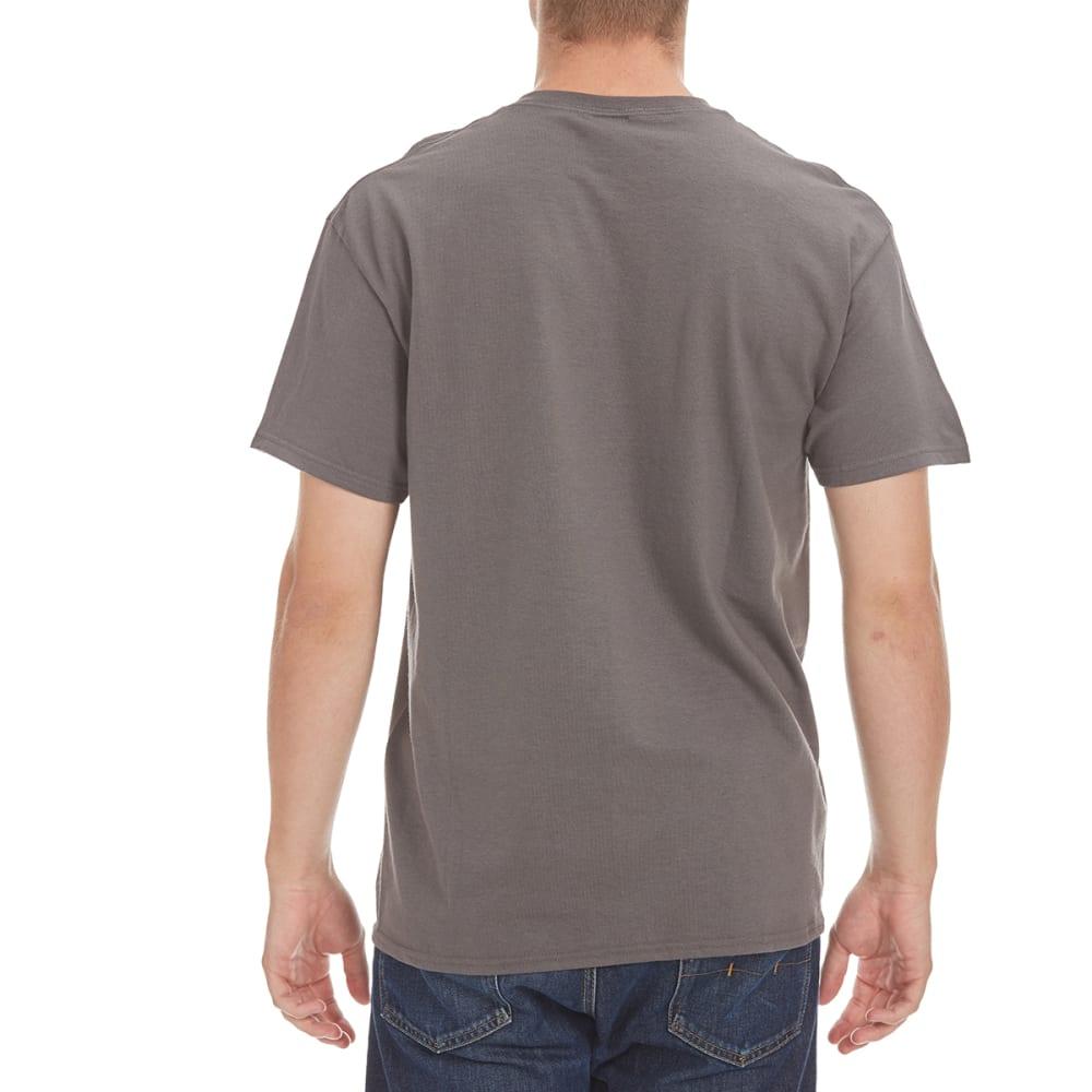HYBRID Guys' Unsupervised Short-Sleeve Tee - CHARCOAL