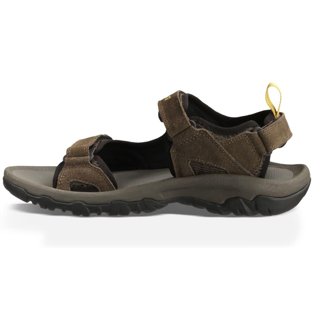 TEVA Men's Katavi Sandals, Brown - BROWN