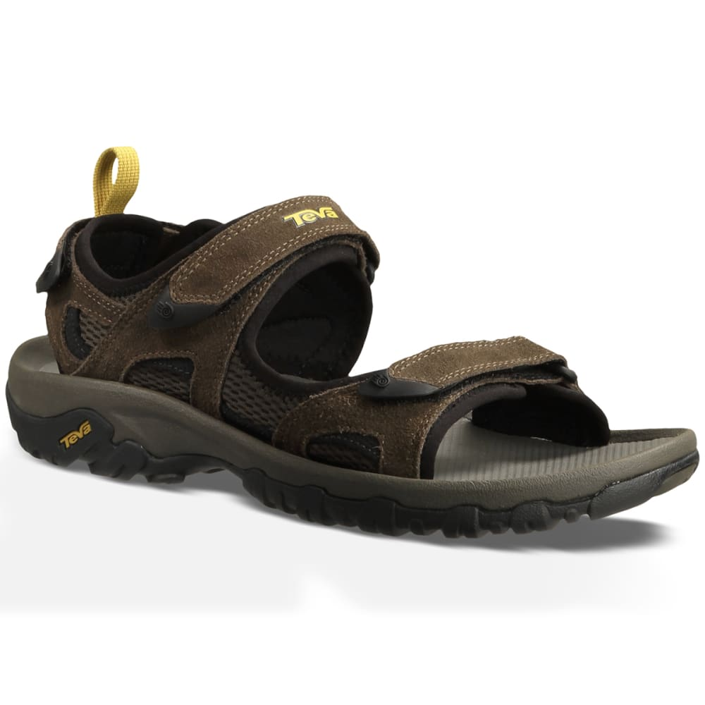TEVA Men's Katavi Sandals, Brown - BROWN
