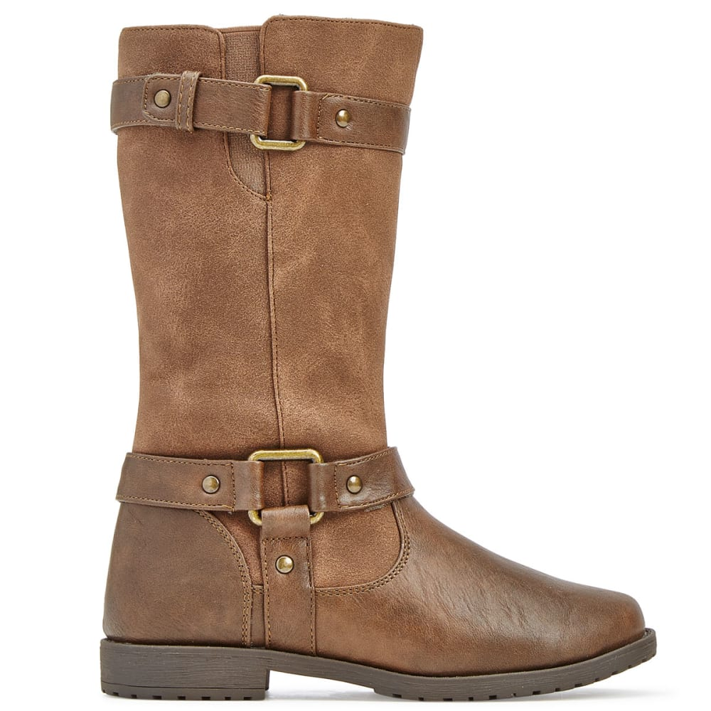 RACHEL SHOES Girls' Cortland Riding Boots - BROWN